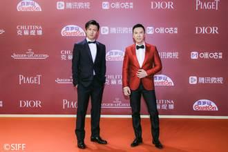 甄子丹、謝霆鋒攜《怒火》赴上海 喊話:警匪片仍是港片皇牌