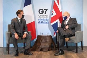 強生北愛議題不讓步 馬克宏和歐盟籲英遵守脫歐協議