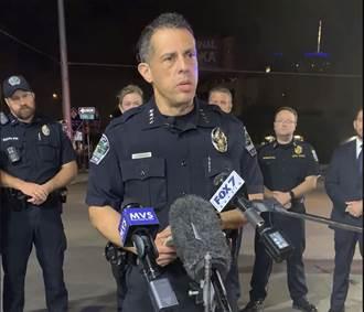 美德州槍擊案13人中槍 嫌犯仍在逃