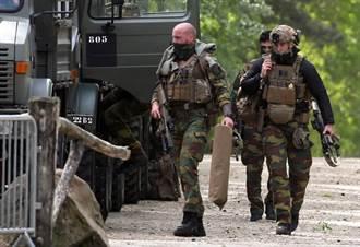 比利時極右軍人偷走軍火 追殺病毒學家