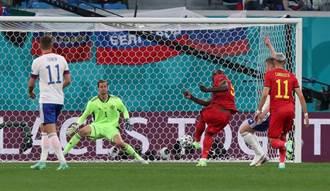 歐國盃》盧卡庫兩度破門 比利時3球大勝俄羅斯