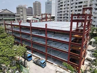 中市立體停車場穩定推動 施工現場推5大防疫措施