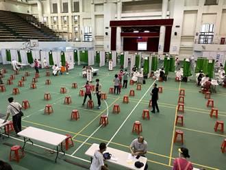 台南大型疫苗接種站13日啟動 上午預計施打1至5類逾3000人