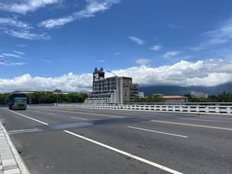 花蓮中山橋橋樑修繕 15日起為期4個月採半半施工