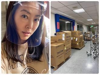 賈永婕募252台救命神器 重症醫:感動到坐在馬桶上哭