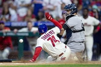 MLB》查普曼連續兩場砸鍋 洋基不敵費城人