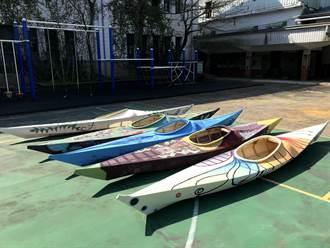 畢業禮物是一艘獨木舟 新北瑞芳瓜山國小畢業生相約疫情後出航