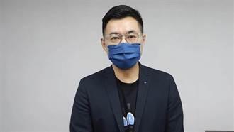江啟臣:蔡還要澄清自己沒打疫苗 凸顯政策失敗