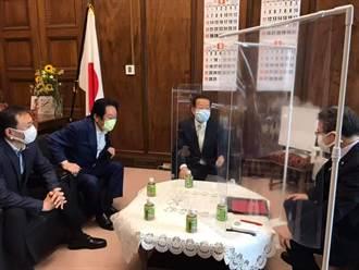 謝長廷赴日本參議院致謝 日議員:台日互相支援已成模式