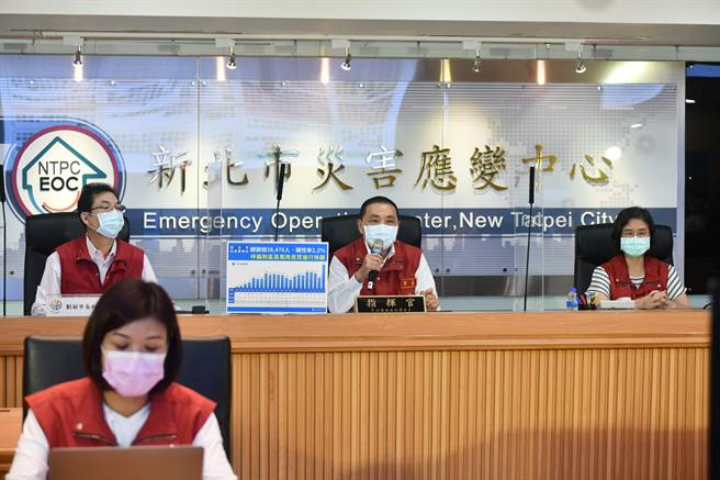 新北市副市長劉和然表示,新北這次疫苗施打的決策都是依照長者特色。(新北市政府提供)
