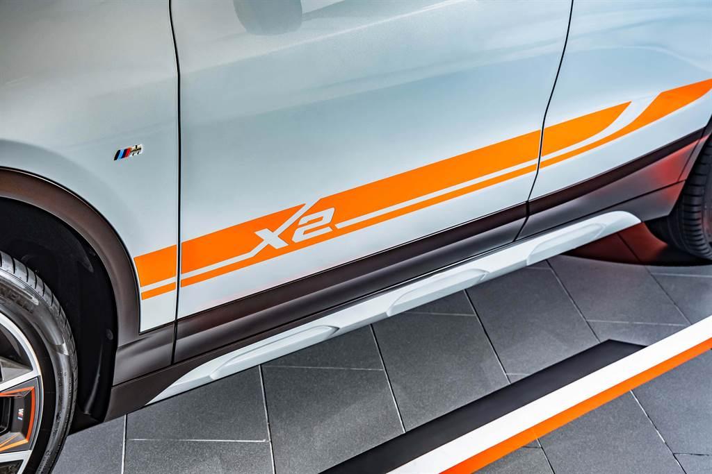 M Mesh Edition專屬對比色車身彩繪,帶來前所未有的視覺震撼!
