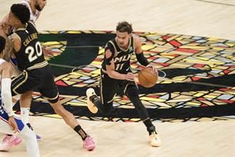 NBA》崔楊連投帶罰攻下致勝6分 老鷹逆斬七六人逼平戰線