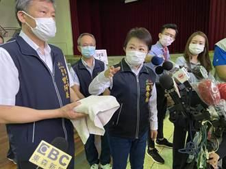 台中採「宇美町式」1小時完成120人接種疫苗