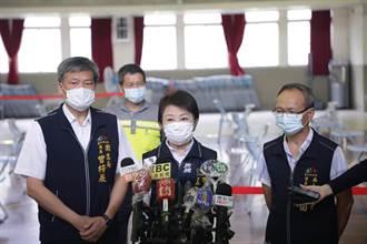 85歲長者踴躍打疫苗 盧秀燕:感動的快哭了