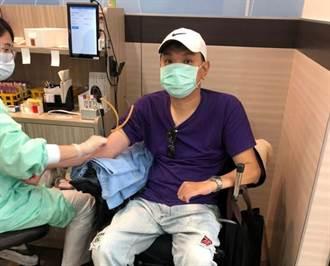 台中市脊髓損傷者協會發起 及時行善捐血挑戰