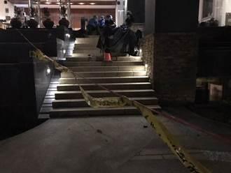 淡水女子墜樓卡橫梁 斷肢掉一樓中庭 社區警衛嚇壞
