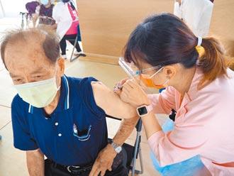 全國第一 竹市80歲長者接種疫苗