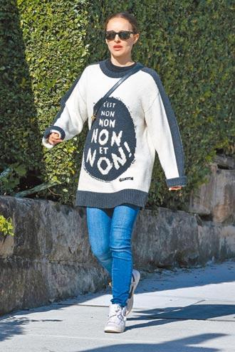 穿舊衣秀理念 娜塔莉波曼猛說不