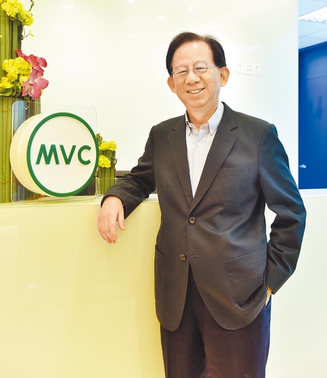 高端疫苗總經理陳燦堅。(本報資料照片)
