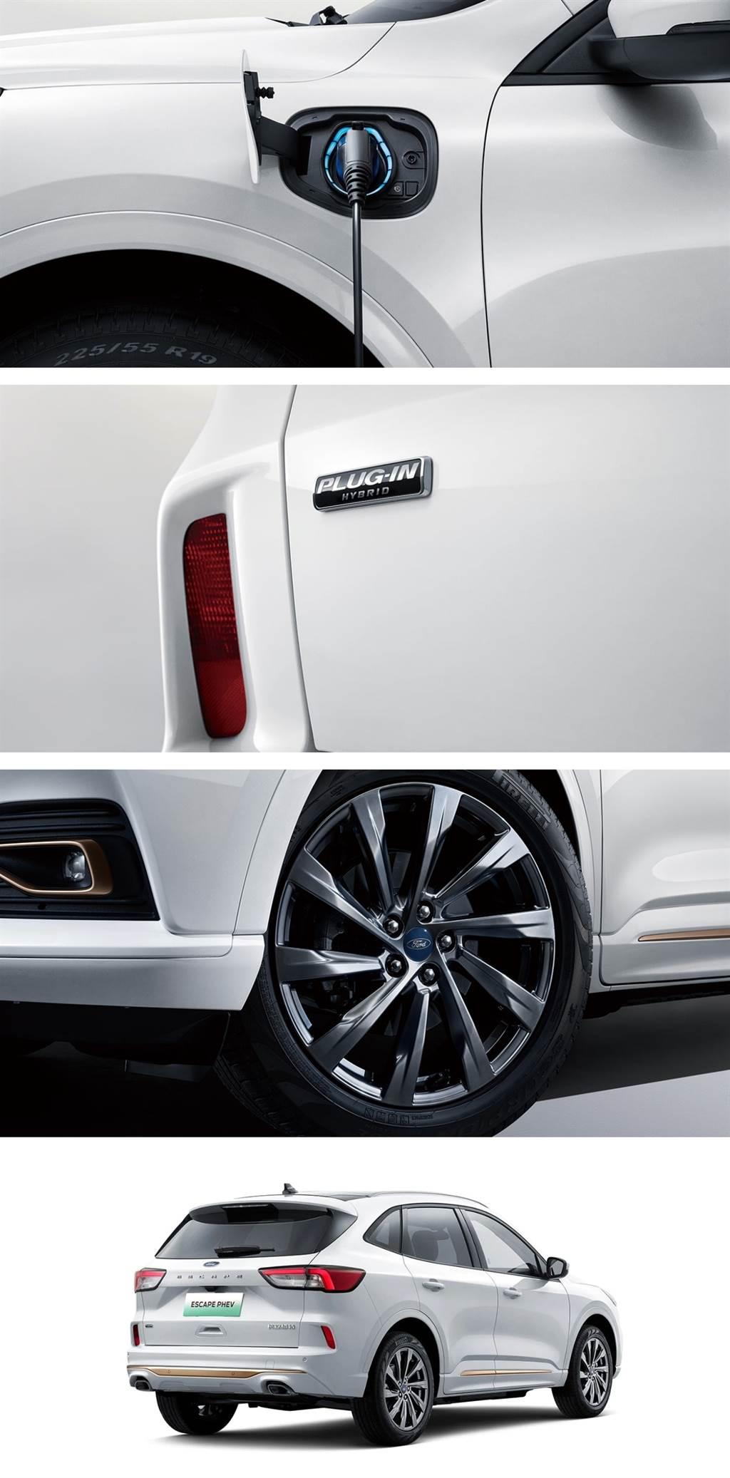 深根新能源車領域,長安福特 ESCAPE PHEV 銳際插電混動版正式投產!