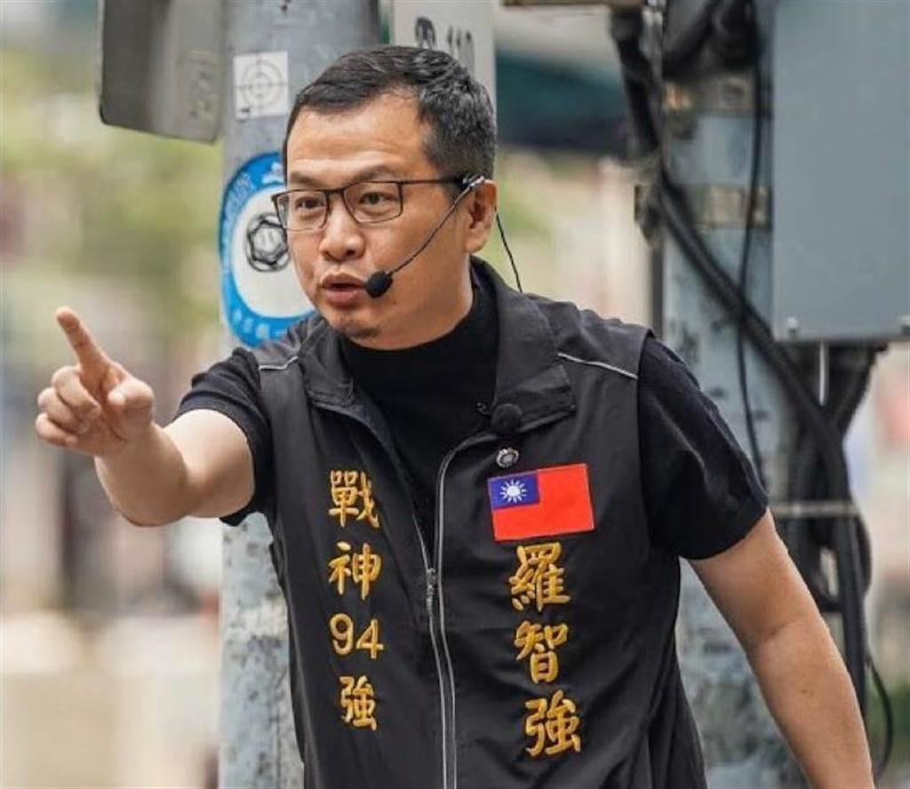 台北市議員羅智強。(圖/中時資料照)