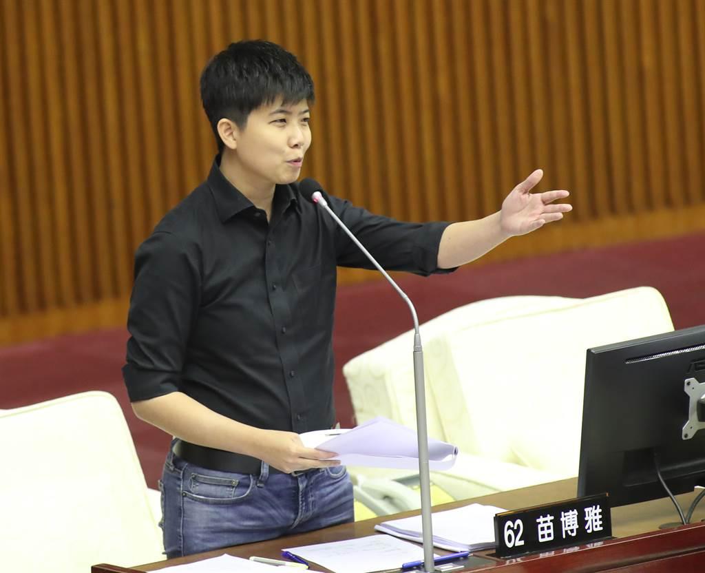 台北市議員苗博雅稱全台20幾個縣市民眾現在是在「陪雙北坐牢」。(本報資料照片)