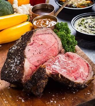 大「塊」朵頤拚買氣 晶華雙人厚切爐烤肋眼牛排超過3公分
