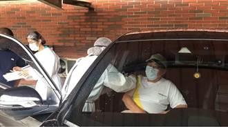 施打AZ免下車 彰化接種站啟動疫苗「得來速」
