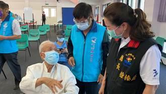 花蓮第一批長者今接種疫苗 103歲人瑞直呼:不緊張