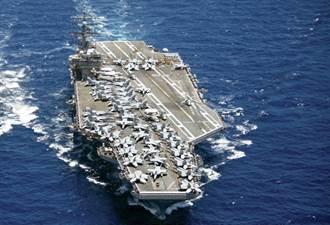 再罵也沒用  美航母打擊群入南海 陸戰艦緊盯
