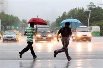 雷雨彈開炸 6縣市大雨特報 一張圖看降雨熱區