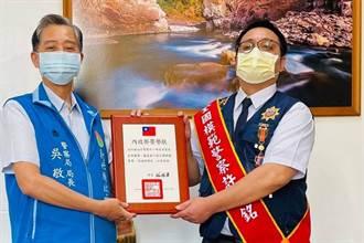 竹縣警雙神探 榮膺全國模範警察