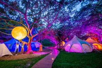 不只是野奢露營 更像走進太空來場奇幻旅程