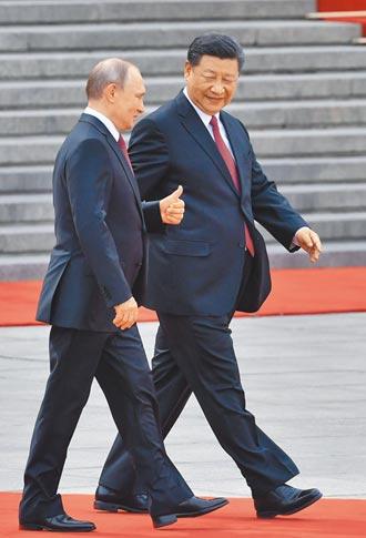 普丁:中俄關係處於歷史高點