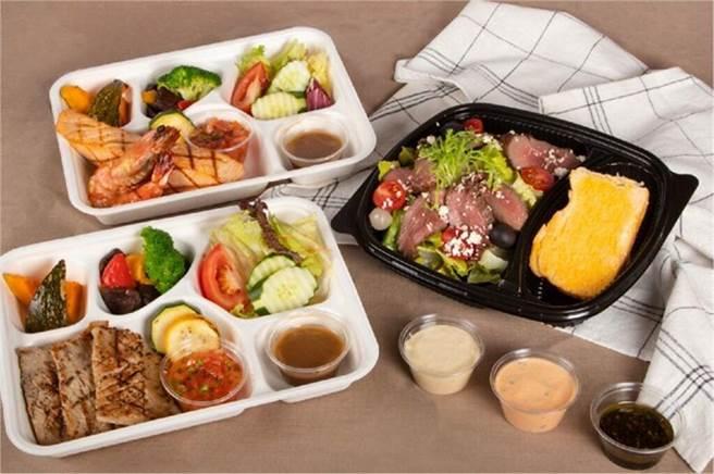 煙波新竹都會館推出三款可外帶的星級餐盒。 圖:煙波國際觀光集團╱提供