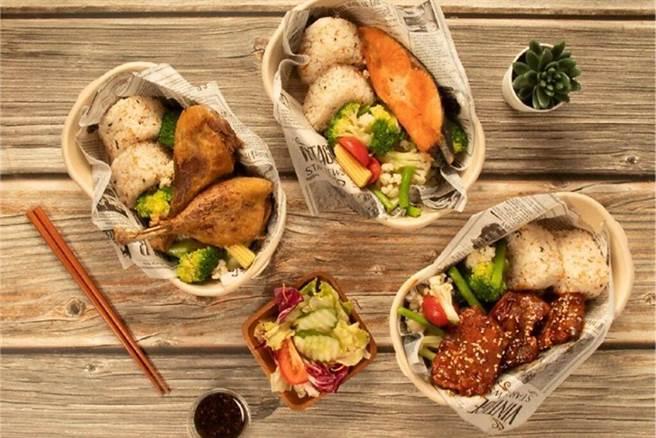 煙波花蓮館-慕拉西餐廳推出三款外帶餐盒。 圖:煙波國際觀光集團╱提供