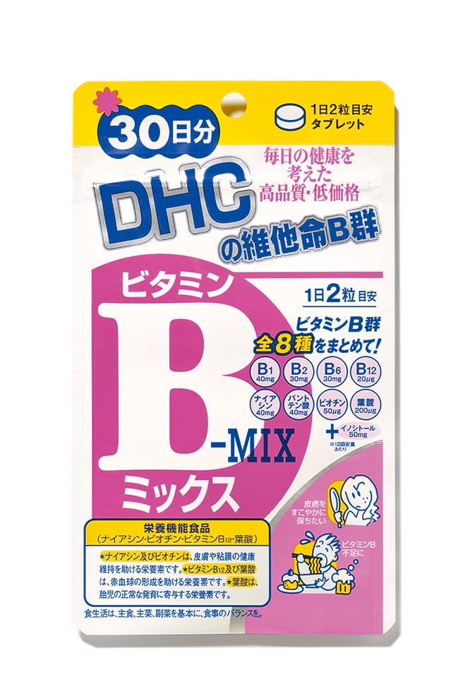 DHC維他命B群30日份,180元。(DHC提供)