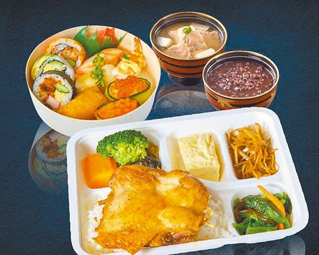 新光三越台北信義新天地「欣葉日本料理 雙人特選超值組」,360元。(新光三越提供)