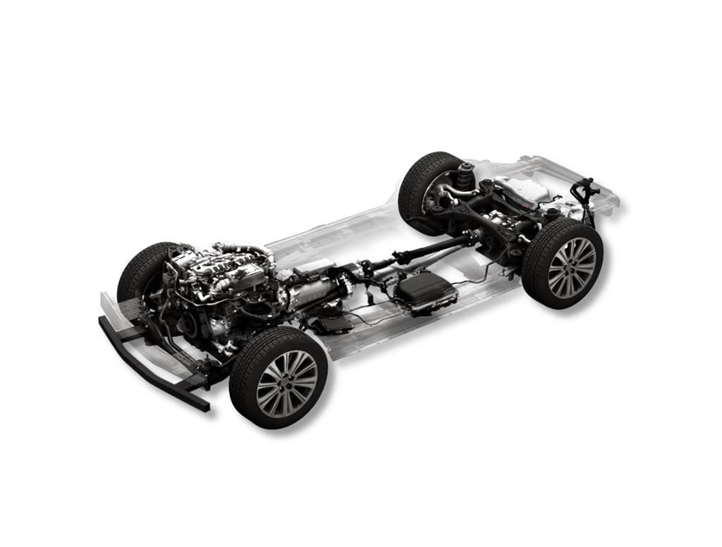 大型車商品群專用 MHEV 48V 後驅平台
