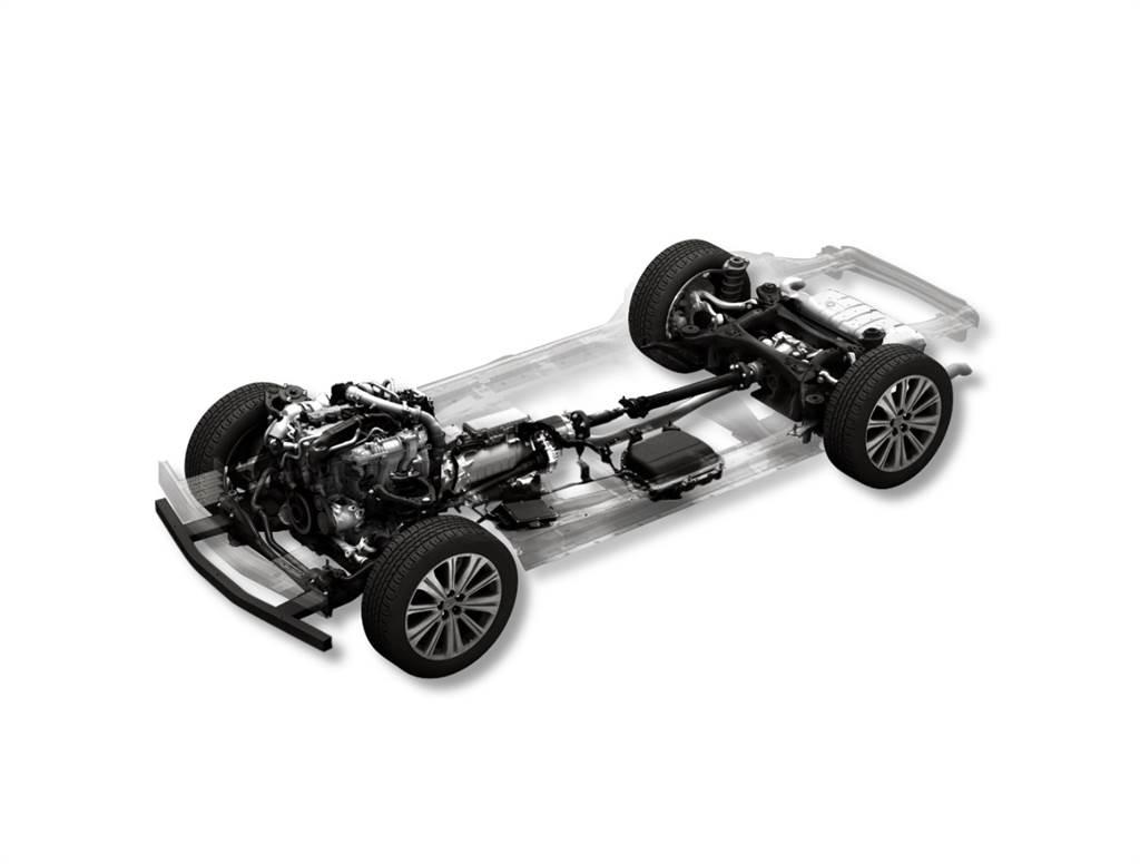 大型車商品群專用 PHEV 後驅平台