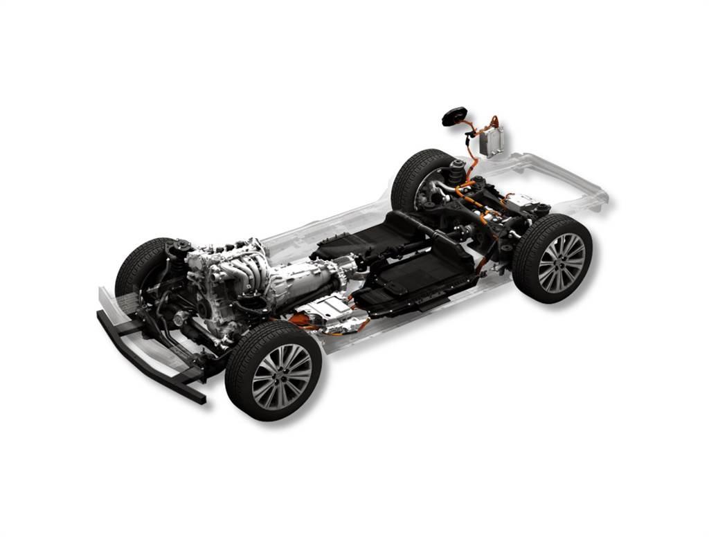 大型車商品群專用柴油 MHEV 48V 後驅平台