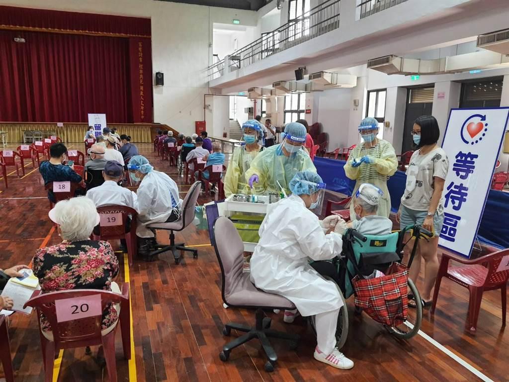 [新聞] 台中施打AZ疫苗累計4死 接種人數突掉2成