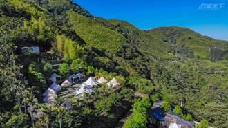 海拔1000公尺的原始山林露營享用在地食材 戶外體驗當地職人手作