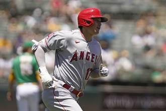 MLB》大谷翔平19轟出爐 本季10轟10盜成聯盟第6人
