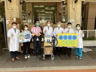 愛台灣 企業捐救命神器拍痰機及背心贈台中榮總