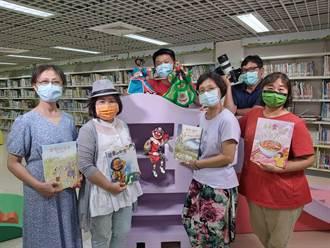 布袋戲偶等道具都秀出 台南「線上故事屋」好精彩