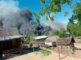 緬甸部隊竟放火燒反對者村子 至少2人死亡
