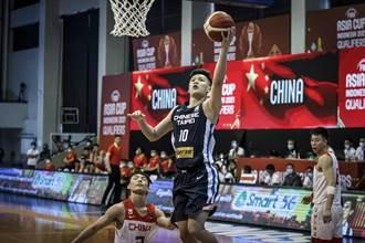 亞洲盃男籃》中華隊首戰狂輸大陸49分