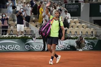 網球》震撼! 納達爾不參加溫布頓、東京奧運