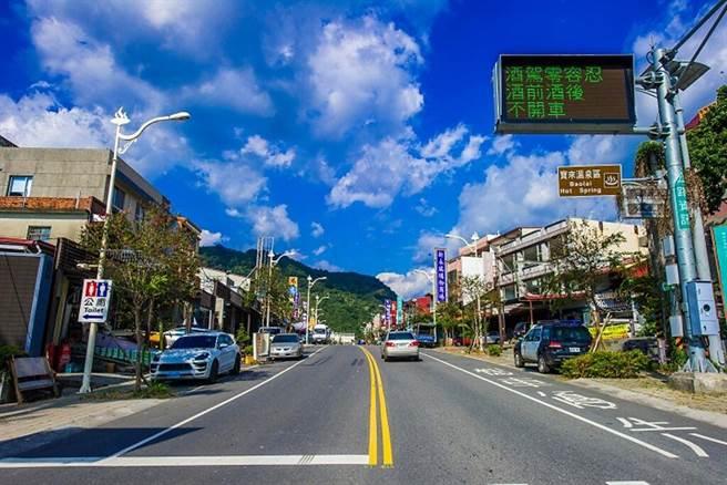 寶來溫泉街道。 圖:茂林國家風景區管理處╱提供